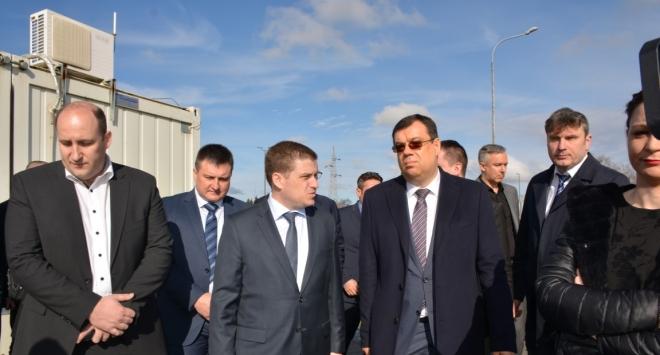 Župan Bajs s ministrom Butkovićem i čelnikom Hrvatskih cesta Škorićem