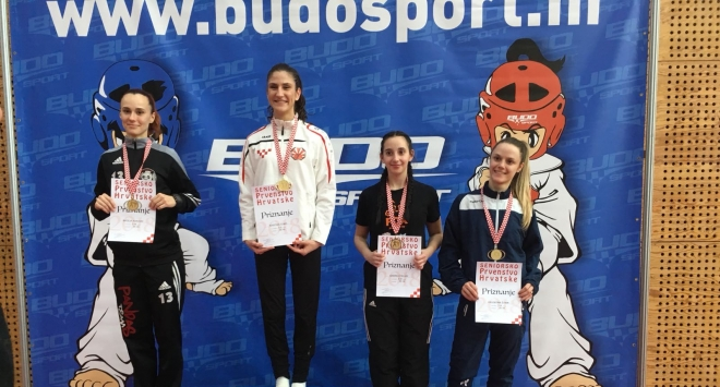 Andrea Pacadi brončana na seniorskom prvenstvu Hrvatske