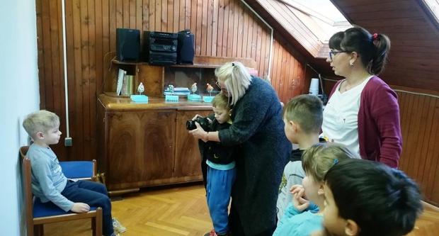 Fotoradionica za mališane iz Cicibana