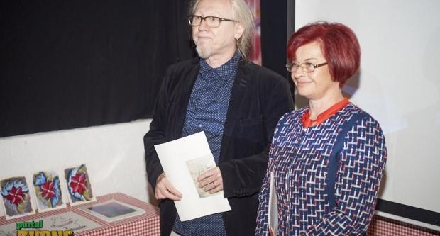 Vlado Franjević i Rajka Poljak sat vremena čitali poeziju i govorili o svojim putovanjima