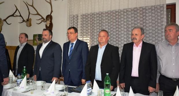 Damir Bajs na svečanoj sjednici Općinskog vijeća u Dežanovcu