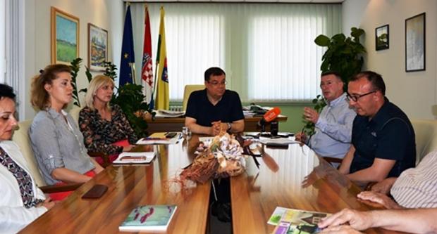 Župan Bajs s predstavnicima Vijeća ogranka Matice hrvatske Bjelovarsko-bilogorske županije