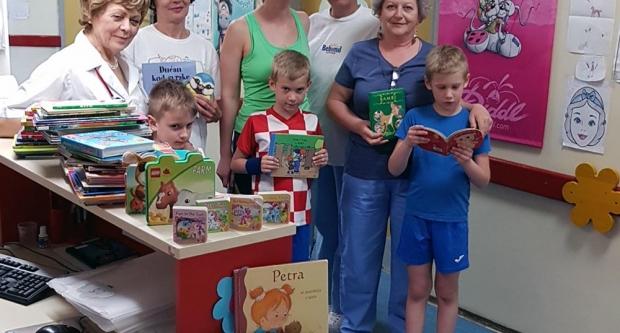 Prikupljeno 150 slikovnica za bolesnu djecu