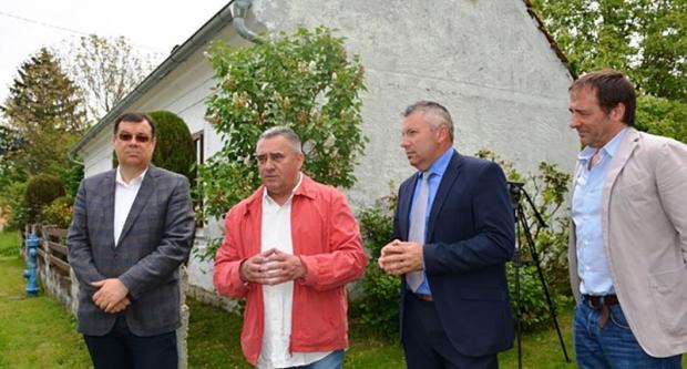 Župan Bajs na Danima Ede Murtića