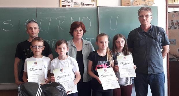 Održano županijsko natjecanje učenika osnovnih škola u poznavanju prometnih propisa