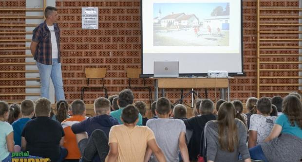 Dobrovoljni vatrogasci Velikog Trojstva u osnovnoj školi