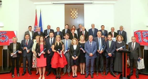 Bajs na obljetnici Hrvatske zajednice županija