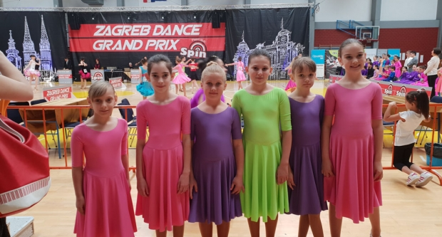 Pregršt odličja za bjelovarske plesačice i plesače na Zagreb Grand Prixu