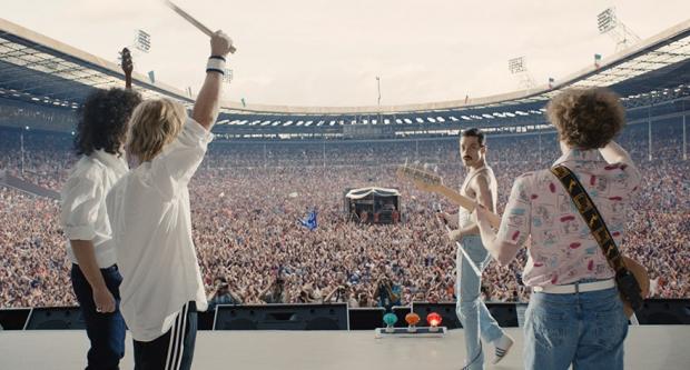 Filmska biografija grupe Queen na jesen u kinima