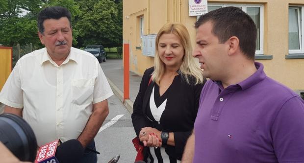 Gradonačelnik Hrebak u Ždralovima