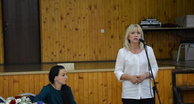 Bojana Hribljan na Danu Općine u Šandrovcu