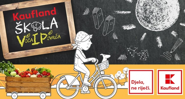 Druga osnovna škola Bjelovar svakog će tjedna od Kauflanda dobivati svježe voće i povrće