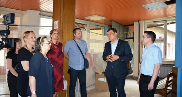 Župan Bajs obišao radove na daruvarskom Domu zdravlja