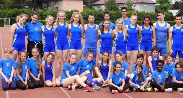 Šest pobjeda bjelovarskih atletičara u Varaždinu