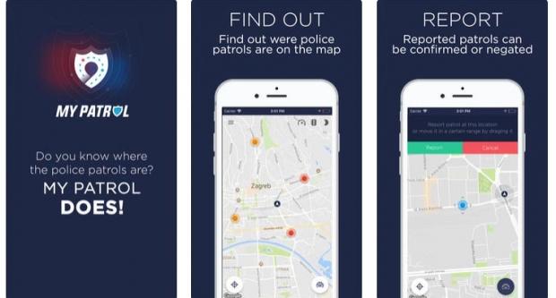 MOJA PATROLA: Aplikacija koja upozorava na policijske prometne ophodnje i radare