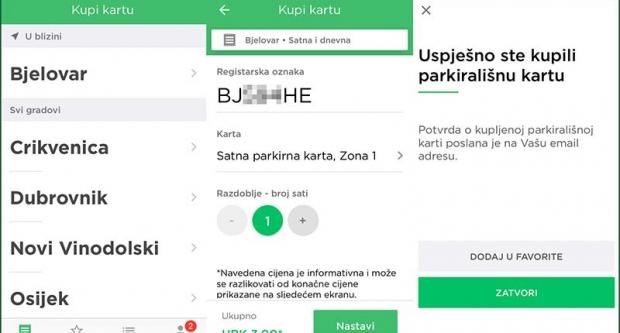 I u Bjelovaru možete platiti parking putem smartphone aplikacije