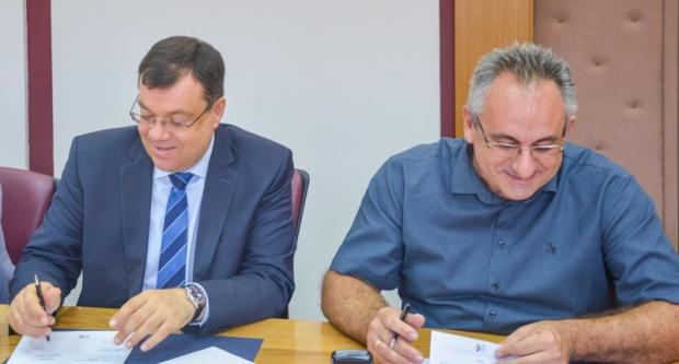 Župan Bajs potpisao ugovore za sufinanciranja prijava na EU natječaje
