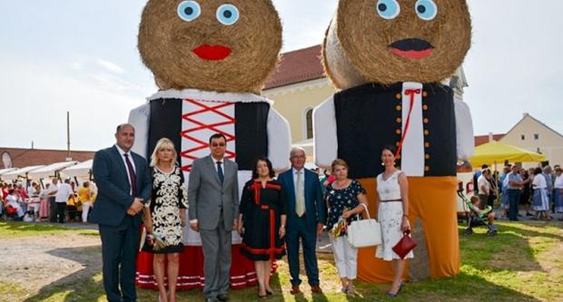 Župan Bajs na češkim žetvenim svečanostima